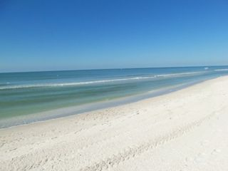 Vanderbilt Beach condo photo - White Sand, Blue Waters Of Vanderbilt Beach. We supply Beach Chairs, Towels