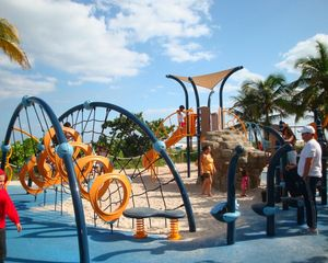 Pompano Beach villa photo - The newly installed children's playground is right along the beach walkway.