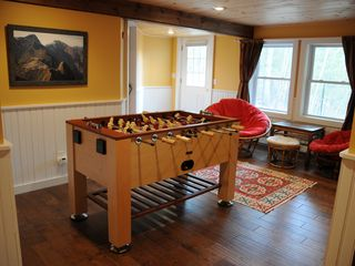 North Conway house photo - Foosball