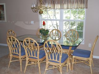 Surfside Beach house photo - Dining Room Seating for 8