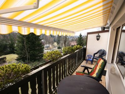 Comfortable apartment with balcony, sauna, children welcome