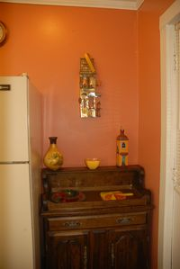 Manchester cottage rental - An area in kitchen.