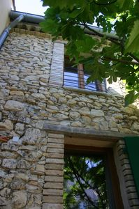 Ecolodge in the Gard between sea and Cevennes - 4/6 pers.