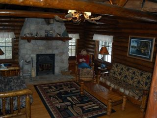 Ely cabin photo - Wildloon Living Room