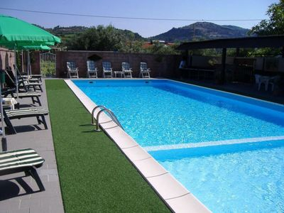 Apartment in the green with swimming pool, 4 persons