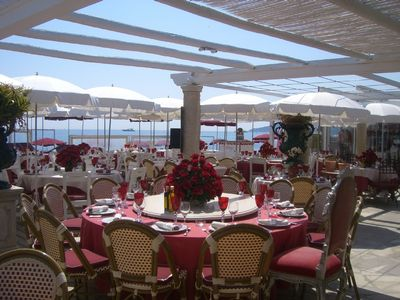 La Voile Rouge private beach club