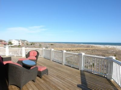 Holden Beach house rental - Put your feet up and relax with dream like views