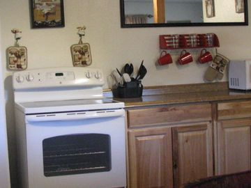 Pagosa Springs cabin rental - Stove and Kitchen