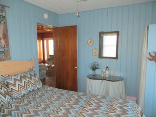 Holden Beach house photo - Blue Bedroom w/Queen Sized Bed
