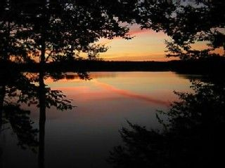 Mashpee house rental - Amazing sunrise from our deck