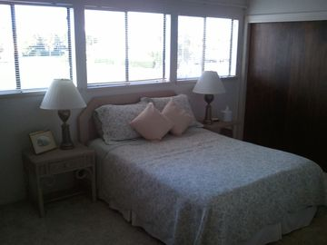 3rd bedroom upstairs with Queen bed & private bath