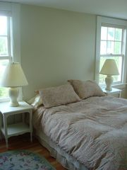 Kennebunk Beach house photo - The Queen Bedroom