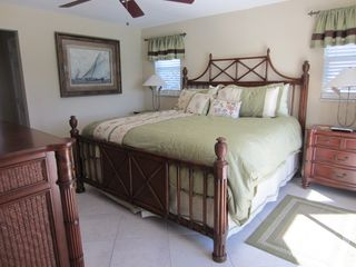 Vacation Homes in Marco Island house photo - King Bedroom w/ sliding door out to Pool