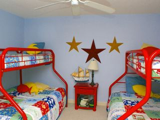 Surfside Beach house photo - Bunk bed room