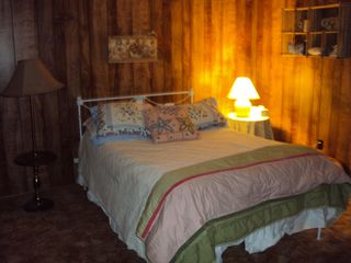 Payson cabin photo - Second Bedroom- Forest View
