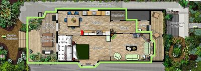Cottonwood Canopy Floor Plan