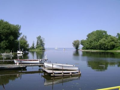 12 mile creek meets Lake Ontario 300 yards from our cottage- bring your boat