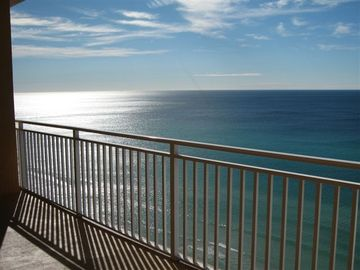 Watch spectacular sunrises and sunsets from the Master Bedroom, or Balcony