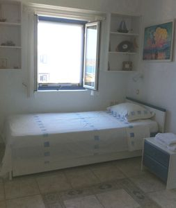 Mykonos bungalow rental - Second bedroom. There is a second bed.