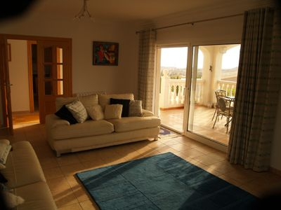 El Campello villa rental - Lounge of the 4 bedroom White Villa