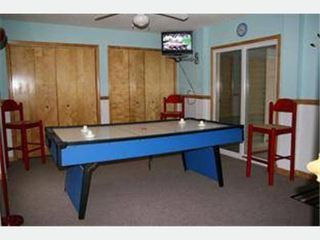 Duck house photo - Recreation room with foosball table