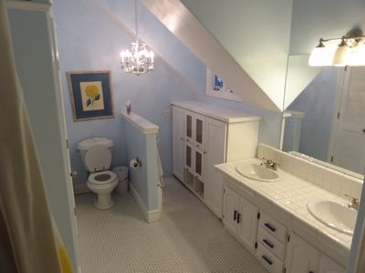 Upstairs Bathroom for kids.