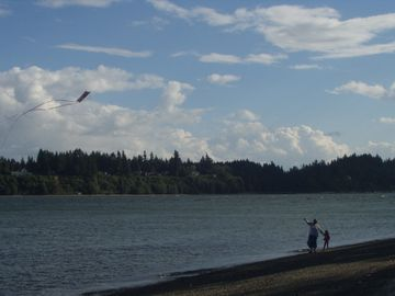 Flying a Kite With Gramma
