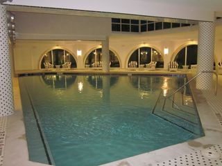 Indoor Heated Lap Pool Provides a Perfect Exercise Outlet