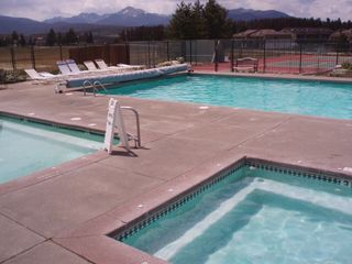 Fraser townhome photo - 2 Hot Tubs, Year Round Pool, Tennis Courts