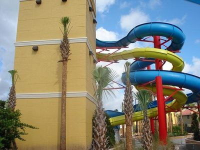 "New!! Giant water slides (must be 48"" to ride)"