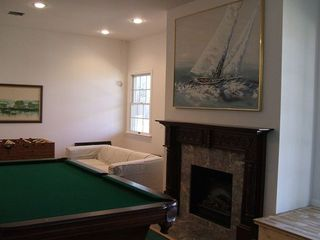 Hyannis - Hyannisport house photo - Family room with pool table, fooseball,