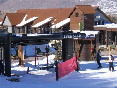Old Town townhome rental - There is never, and I mean never a lift line at the Silver Star lift!