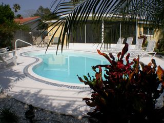 Clearwater Beach house photo - Sparkling heated pool