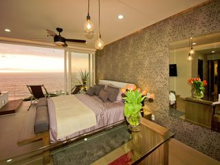 Puerto Vallarta condo photo - Gorgeous Ocean Pacific sunset bedroom view