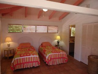 St. Croix villa photo - Guest Bedroom Main Pavilion