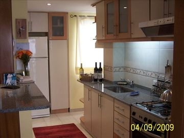 Recoleta apartment rental - Completely Furnished Kitchen With New Appliances
