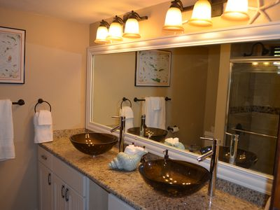 Completely renovated bathroom Spring 2012! Granite tops, new cabinets..the works