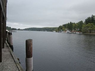 View from private 30 foot boat dock - Alton Bay condo vacation rental photo