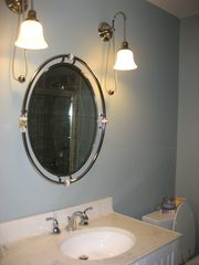 Lake Wallenpaupack house photo - Sink in guest bathroom