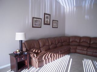 Fort Myers condo photo - Large sectional sofa