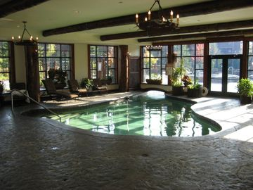 Indoor Pool With Hot Tub