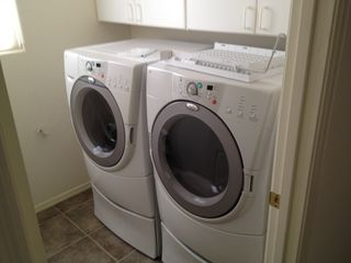 Goodyear house photo - Nice front loader washer and dryer