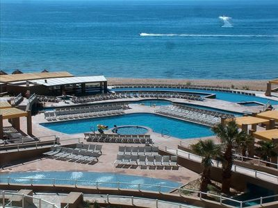 Puerto Penasco condo rental - View From Our 4th Flr Condo Phase II Cortez Bldg.