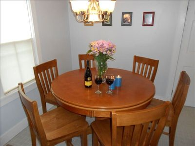 Dinning Area - Blue Rose Cottage Bar Harbor Vacation Rental