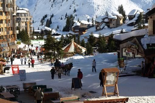 H-Avoriaz Savoie Apartment Residence les Fontaines Blanches resort center