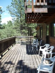 Angel Fire house photo - Back decks