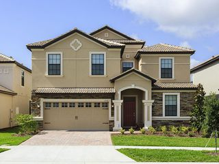 Modern New 8 Bed Villa Disney World Homeaway Champions Gate