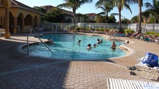 Fort Myers condo photo - Salt water heated swimming pool and Jacuzzi in the resort