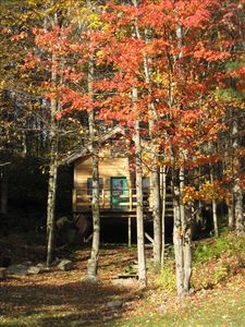 The Cabin in Fall