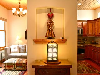 Santa Fe townhome photo - Beautiful touches of Santa Fe throughout.